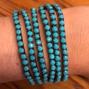 Jewelry - Beaded Stretchy Layering Bracelet